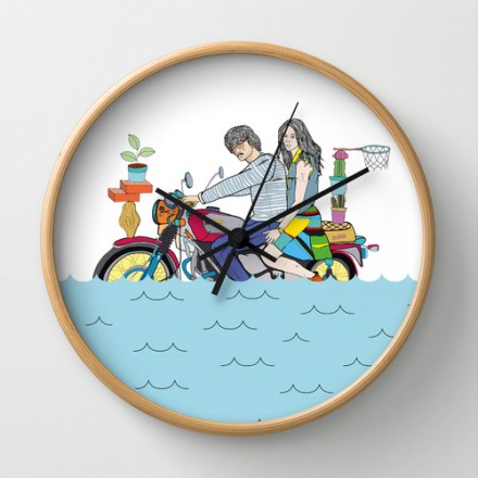 WALL CLOCK X SOCIETY6